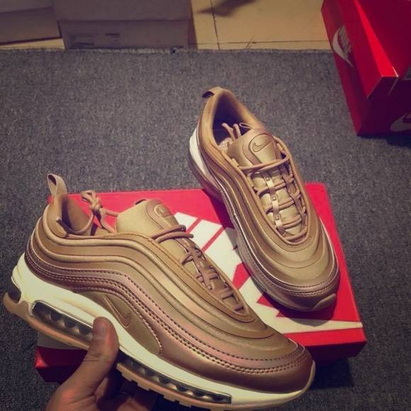 "Nike Air Max 97"" QS Metallic Gold NWT"